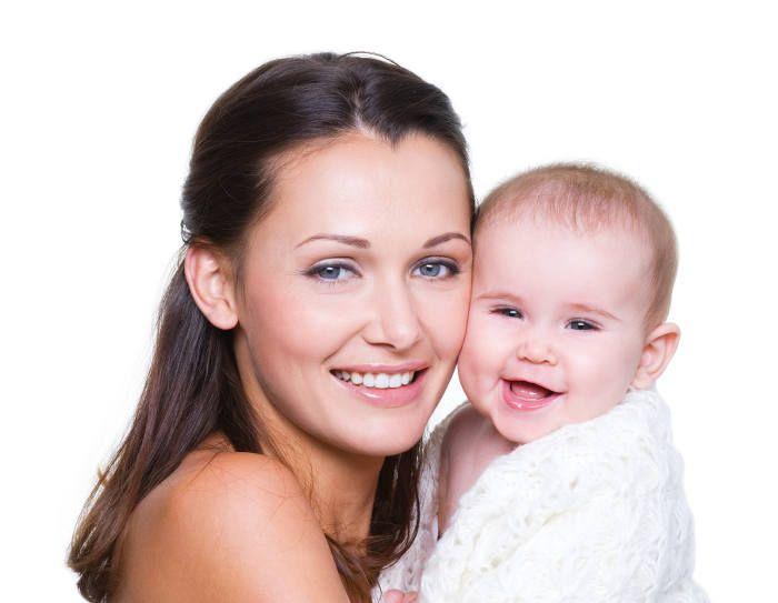 mama con niño
